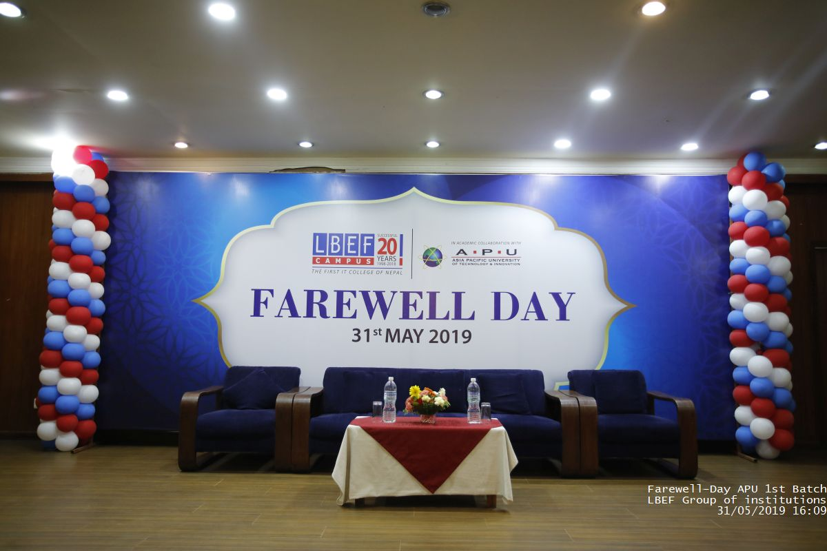 Farewell Day