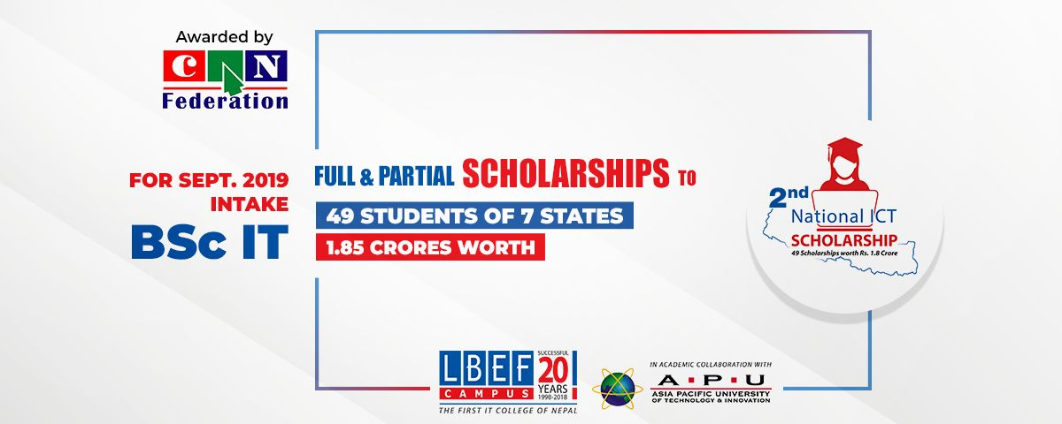 National ICT Scholarship Awards 2076 - LBEF CAMPUS-The First IT