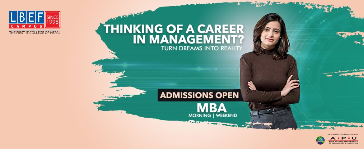 Admission Open In MBA